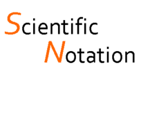 Scientific Notation Practice, from Standard Form