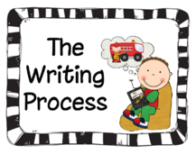 Actions in the 5 Step Writing Process