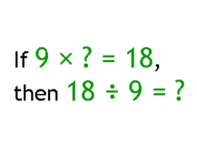 Relating Division and Multiplication