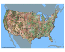 Major US Geographic Features