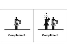 Confusing Words: Complement or Compliment?