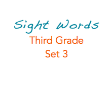Sight Words: 3rd Grade, 3 of 3